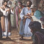 jesus and pharisiens